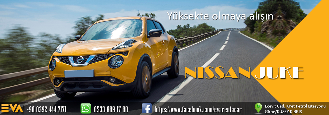 Eva Rent A Car Nissan Juke