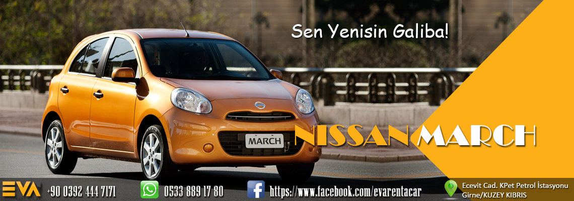 Eva Rent A Car Nissan March